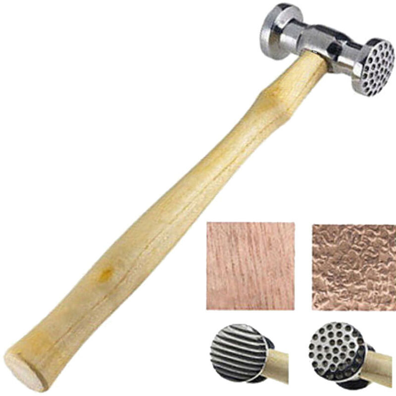 Texturing Hammer Dimples & Narrow Stripe Design Jewelry Metal Texture Finish