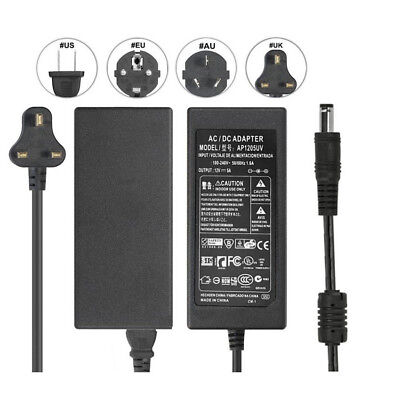 12V 5A 60W AC Adapter Charger for CHI LCD Monitor CH-1204 CH-1205 Power