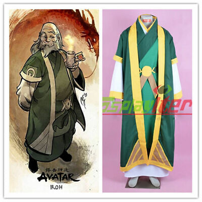 Avatar The Last Airbender The Legend of Korra Iroh Cosplay costume