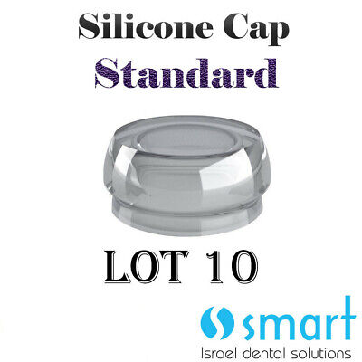 Lot X 10 Dental Implant Locator Flat Abutment Silicone Cap Standard