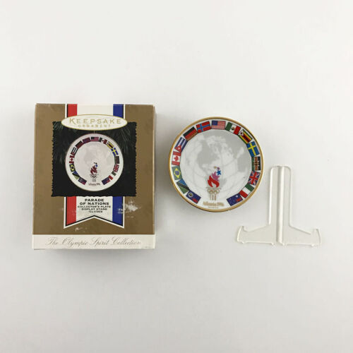 Hallmark The Olympic Spirit Collection 1996 Keepsake Ornament Atlanta Plate