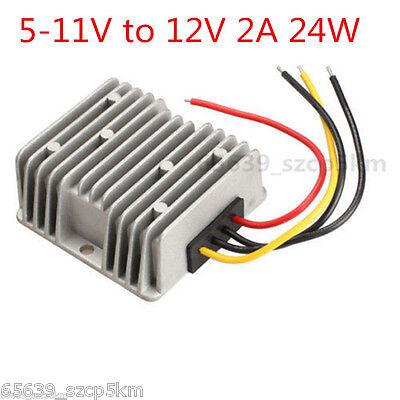 New Voltage Booster Power Dc Converter Regulator 5v5-11v Step Up To 12v 2a 24w
