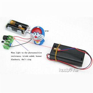 Infrared Laser Alarm Switch Sound / Light Alarm Motion Senser Security Diy Kits