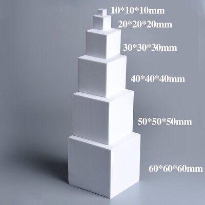 White Non-adhesive EVA Foam Cube Buffer High Density Sponge Pad For DIY Eva Cube