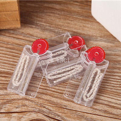 2PCS Cigarette Lighter Flints Stones +Cotton Core Replacement in Dispenser US