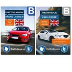 Theory book + Practical book 2019 - Car Driving license B