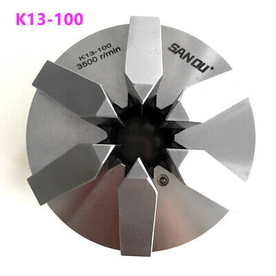6 Jaw 4 Lathe Chuck 100mm Self-centering M8 Screw Hardened Steel Cnc Drilling