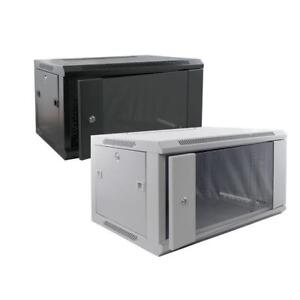 6U Wall Mounted Server Cabinet/ Server Rack 600mm Deep