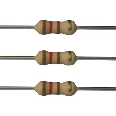 100 X 120 Ohm Carbon Film Resistors - 14 Watt - 5 - 120r - Fast Usa Shipping