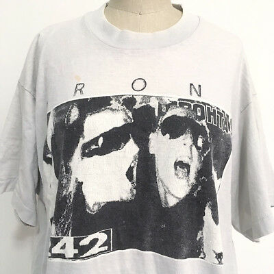 ⭕ 80s Vintage FRONT 242 wax trax ORG shirt : industrial gothic punk supreme 90s