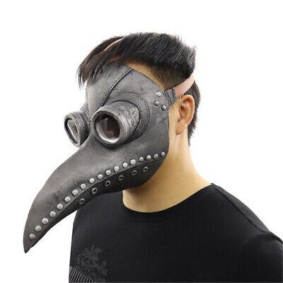 Steampunk Pest Arzt Maske Cosplay Vogel Schnabel Retr Gothic Halloween Masken