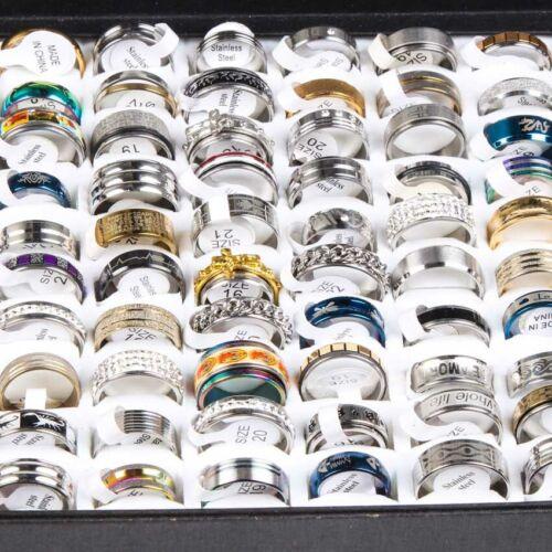 Wholesale Lots 100pcs Mix Styles Men