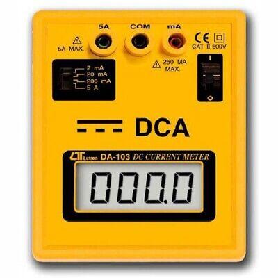 Dca Bench Meter Da-103 Lcd Panel Meter 5 Amp Dc