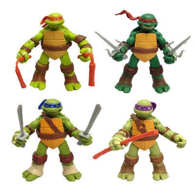 TMNT Teenage Mutant Ninja Turtles Lot 4 Action Figur Figuren  (Ninja Turtle Tmnt)