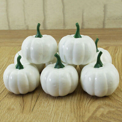 Indoor Outdoor Halloween Kids Foam 10 Pumpkin DIY Craft Art Kit Party Decoration