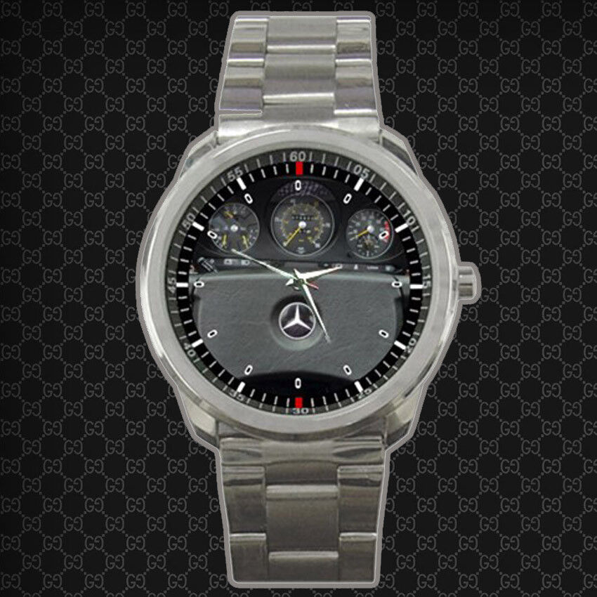 1980 Mercedes Benz SL Class 450 SL Roadster Sport Metal Watch