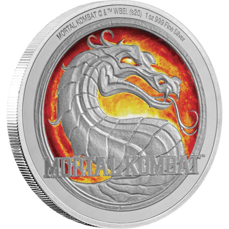 2020 Niue Mortal Kombat 1oz Silver Coin