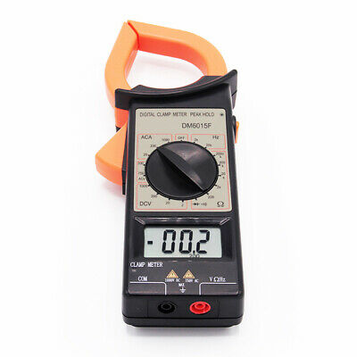 1000a Multimeter Digital Clamp Ampere Meter Acdc Ohm Current Voltage Tester