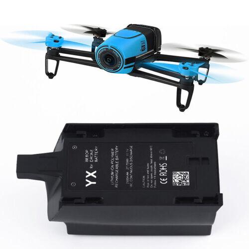 Black 2500mAh 11.1V High Capacity Battery for Parrot Bebop Drone 3.0 Quadcopter
