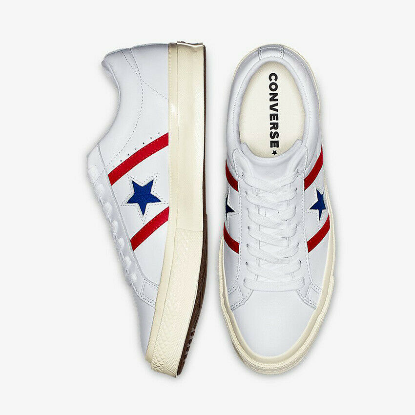 Details about Mens Converse One Star Academy Ox Low Top Leather 163758C Sneakers Various Sizes