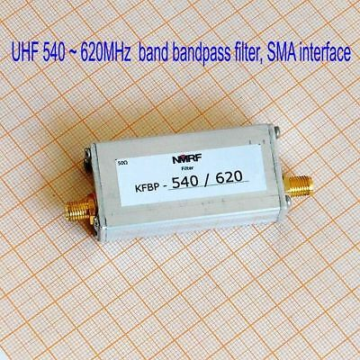 540620mhz Uhf Band Bandpass Filter Metal Sma Interface