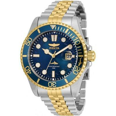 Invicta 30616 Pro Diver 43MM Men's Gold-Tone and Silver Stainless Steel Watch