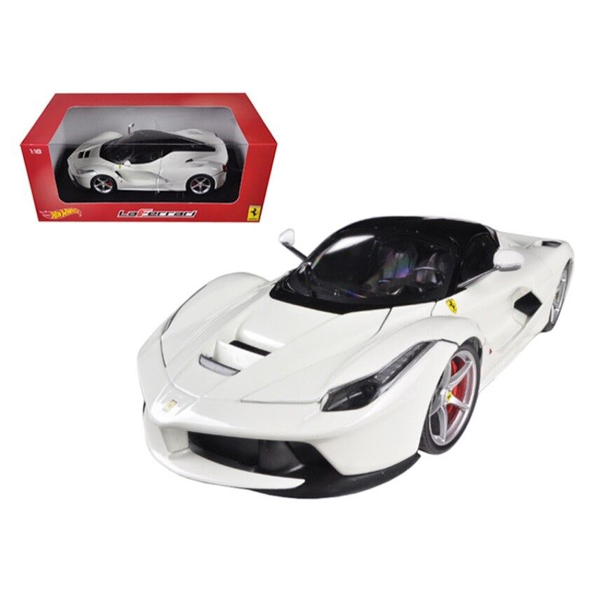 Hot Wheels Bly54 Ferrari Laferrari F70 Hybrid White 118 Ebay
