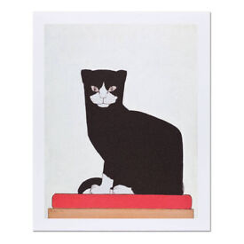 The Cat by Bart Van der Leck Quality Reproduction Print