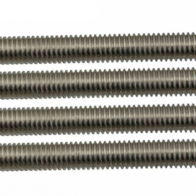 M2 M3 M4 M5 M6 M8 M10 M12 All Thread Threaded Rod Bar Studs 304 Stainless Steel