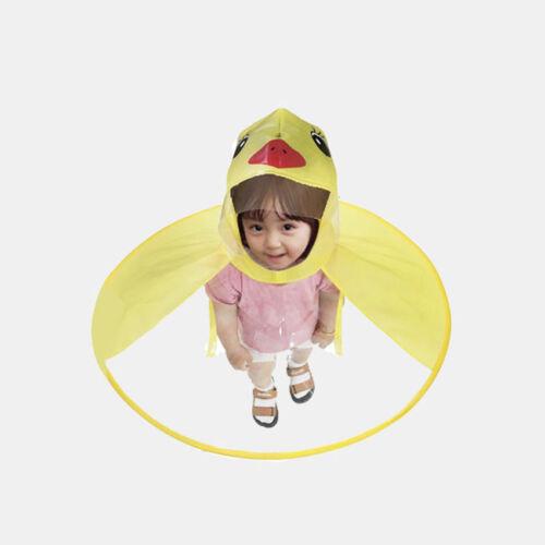 Windproof Sunny and Rainy Umbrella Baby Boys Girls Rain Coat