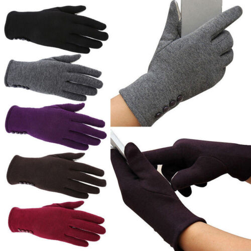 5Colors Outdoor Lady Winter Warm Windproof Anti-slip Thermal Touch screen Gloves