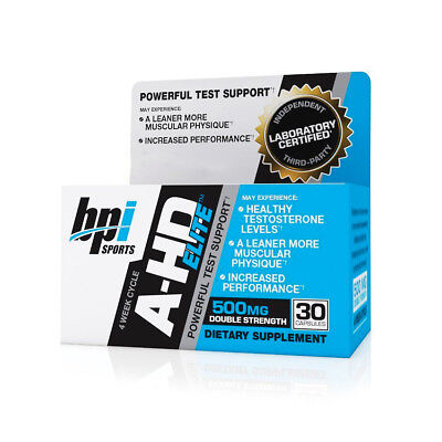 BPI Sports A-HD Elite Best Body Building & Muscle Toning Supplement 30