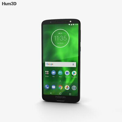 "Motorola Moto G6 32GB 12MP Camera Android Smartphone Black Unlocked 5.7"" LCD^^^"