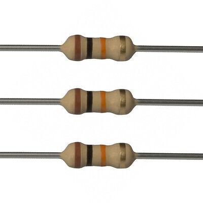 100 X 10k Ohm Carbon Film Resistors - 14 Watt - 5 - 10k - Fast Usa Shipping