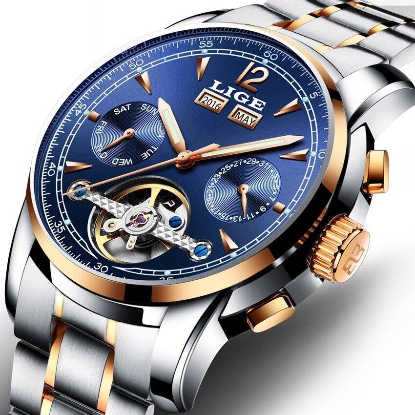 Luxury Men Watch Male Automatic Mechanical Wristwatch Sport Lige