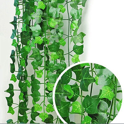 6.56ft Artificial Ivy Leaf Garland Plants Vine Fake House Garden Room Decor DIY