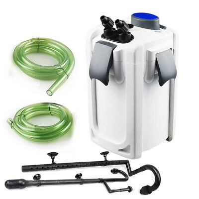 SunSun HW-704B 525 GPH 5-Stage External Canister Filter with 9W UV Sterilizer