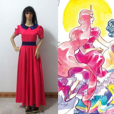Custom Made Princess Adventure Time Princess Bubblegum Cosplay Costume GG22