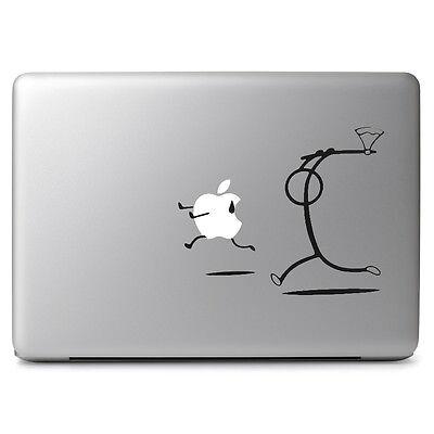 (Chasing Apple Vinyl Decal Skin Sticker for Macbook Air Pro 11 13 15 17