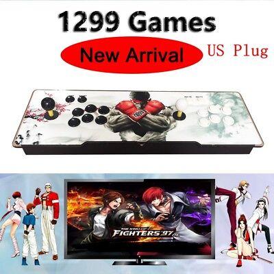 1299 Game Pandora's Box 5S Arcade Retro Double Stick Console  New US Plug
