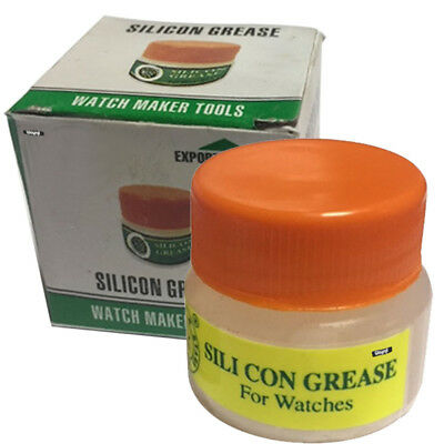 SILICONE GREASE FOR WATCH REPAIR WATCHMAKING SUPPLIES 10 Grs WATERPROOF GASKETS