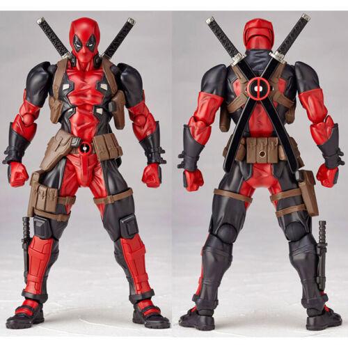 Amazing Yamaguchi Marvel Revoltech Kaiyodo DEADPOOL X-Men Ac