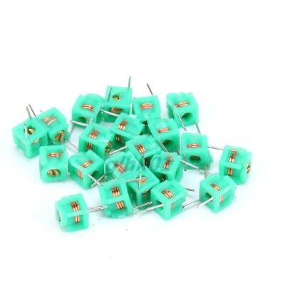50pcs Md0505 5x5 2.5t Adjustable Inductor Hollow Coil Inductance Molded Variable