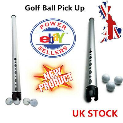 Golf Ball Pick Up Retrievers Portable Collector Hold 20 Balls Upper Arm Pole UK