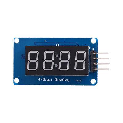 0.36 Tm1637 4-digit 7-segment Tube Led Red Digital Display Module For Arduino