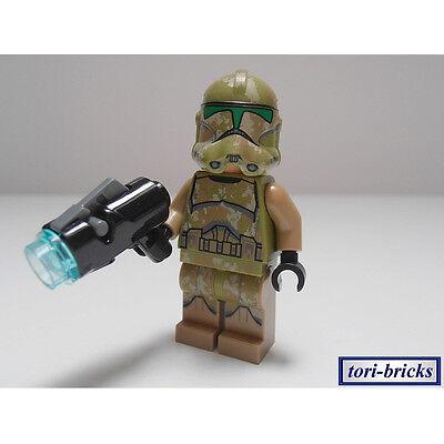Star Wars Clonetrooper Blaster (Lego Star Wars Figur Kashyyyk Clone Trooper mit Blaster »NEU« aus 75035)