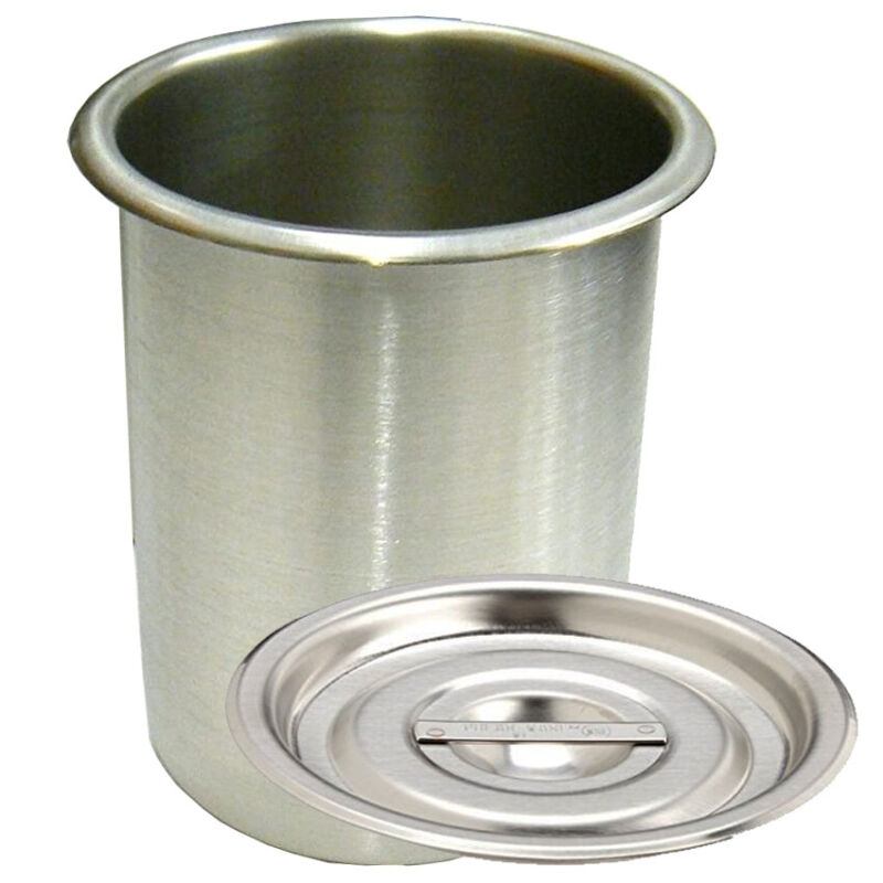 Beaker Stainless Steel Pot 1-1/4 Qt With Cover Plating Stainless Steel Pot