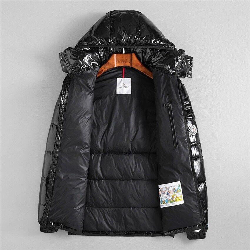 66f19e3dc BRAND NEW TAGS - Moncler Hood Down Glossy Black Maya Puffa Padded Fitted  Coat Jacket - MEDIUM LARGE | in Lenton, Nottinghamshire | Gumtree