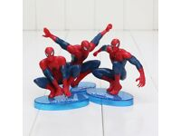 spiderman cake toppers-Brand new