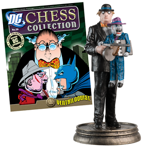 VENTRILOQUIST DC CHESS Figure in BOX+ MAG #29  Batman DC COMICS Molendinar Gold Coast City Preview